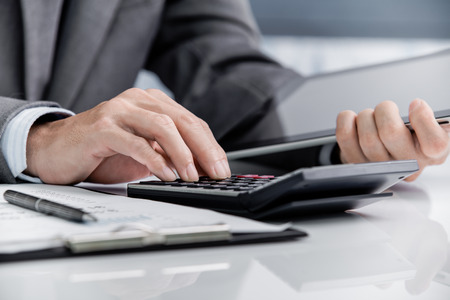Man Analysis Business Accounting Stock Photo - 47153952