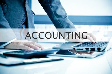 contabilidad: El hombre de negocios Análisis. Etiqueta de Contabilidad
