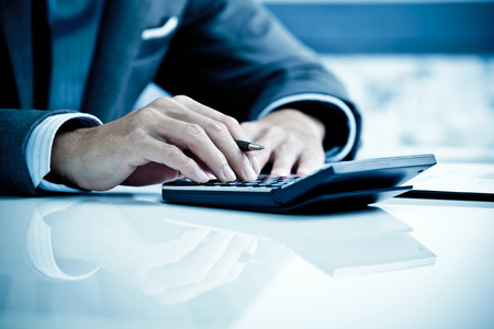 accounting: Hombre Análisis Business Accounting