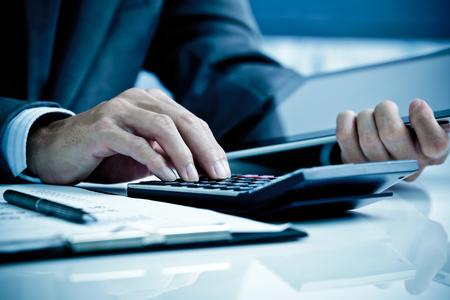 Muž Analysis Business Accounting