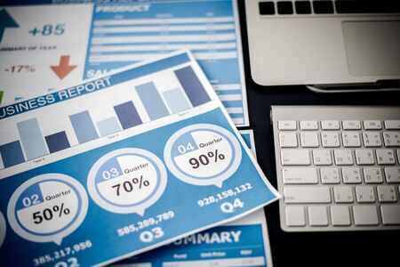 Mostrando informe comercial y financiero. Contabilidad