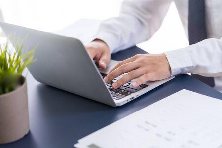 Man Analysis Business Accounting