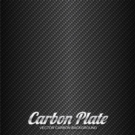 fibra de carbono: Fondo de fibra de carbono Vectores