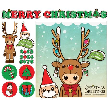 Collection of  Christmas Stock Vector - 16784870