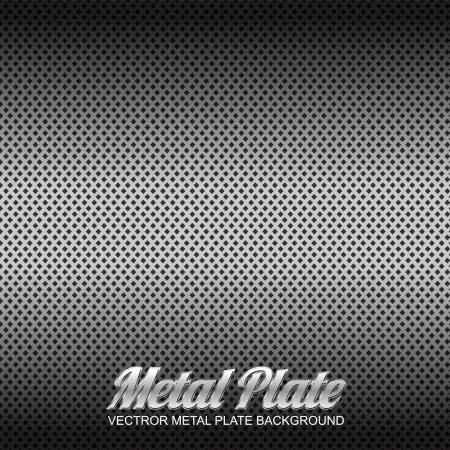 treadplate: vector metal plate 1