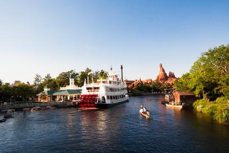 Pirate ship at Disney land 新聞圖片