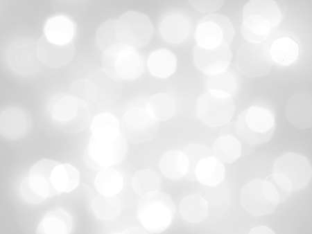 white and colorful bokeh abstract lights with soft light use as background, blur wall, macro.