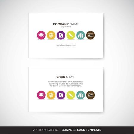 plantilla para tarjetas: Tarjeta de visita