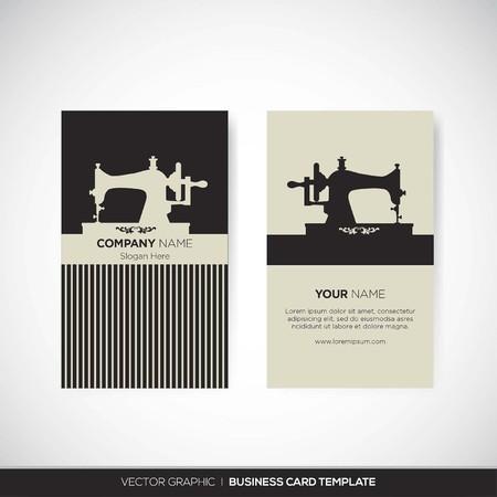 visitenkarte: Visitenkarte Illustration