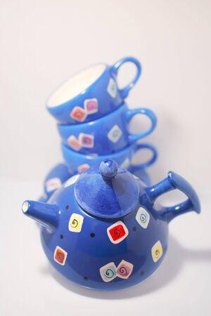tea set 版權商用圖片
