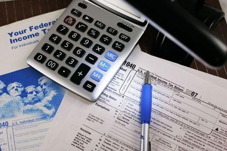 tax form Stock Photo - 2407803