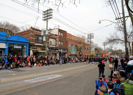 attended: The annual Easter Parade is attended by about 50,000 Torontonians