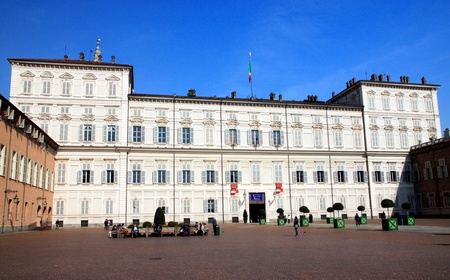 reale: The Palazzo Reale in Turin, Italy