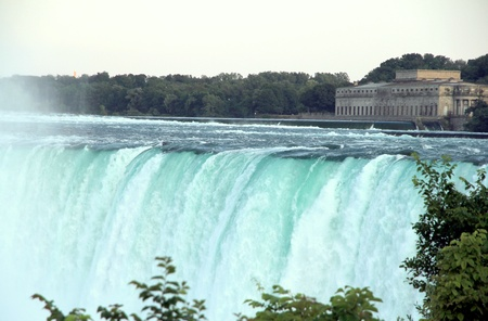 Niagara Falls, Canada, June 30, 2012 - A view of the Niagara Falls, Canadian side.