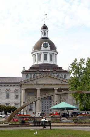 Kingston, Canada, September 7, 2012 - A view of the City Hall in Kingston, Ontario