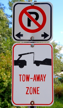Two road signs in Onta Stock Photo - 16614879