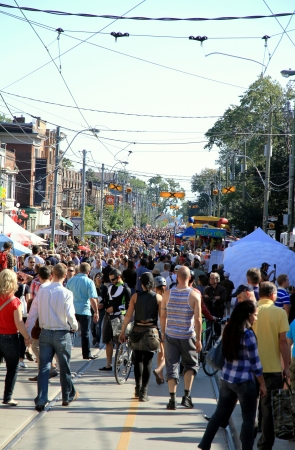Toronto, Canada, September 16, 2012 - A Polish festival in Toronto Editorial