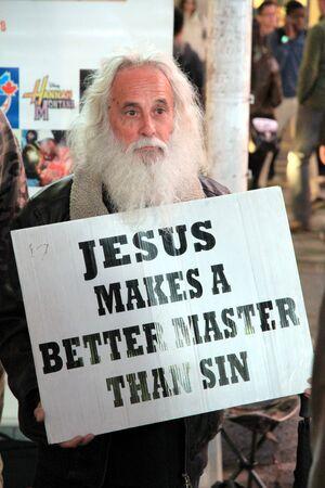 トロント、カナダ、2012 年 9 月 29 日 - トロントでのイエス ・ キリストの説教