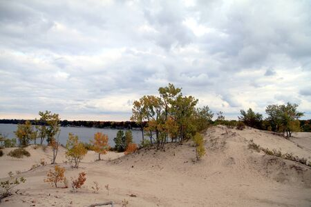 A view of the Sandbanks Provincial Park in Ontario