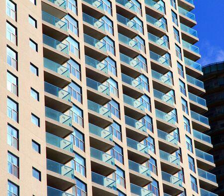 house prices: Residential Building Facade Editorial