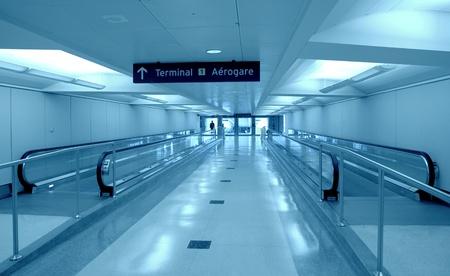 空港の廊下 写真素材