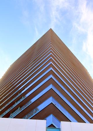 Modern condo building details