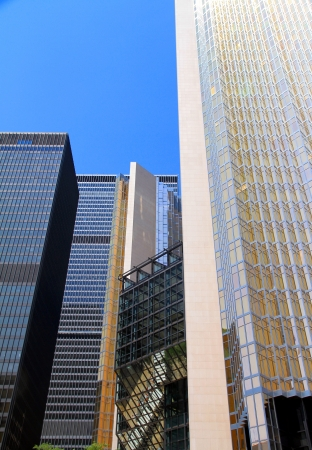Modern buildings on July 20, 2013 in Toronto photo