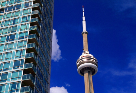 CN Tower on July 20, 2013 in Toronto