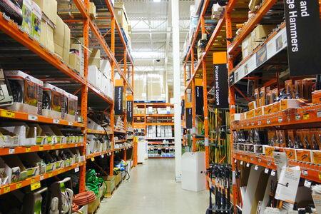 Le magasin Home Depot le 22 Septembre 2013, à Toronto Banque d'images - 27027536