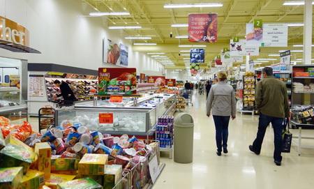 2013 年 10 月 13 日にトロントでのアジア スーパー マーケット 報道画像