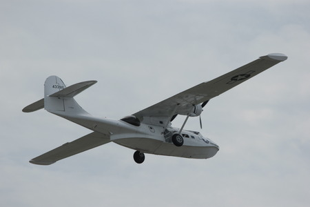ilitary Seaplane, now retired, it was commonly used by both British and American forces to help deploy troops.