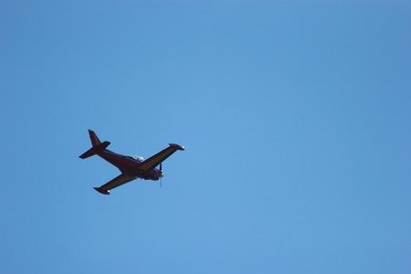 civilian: stunt civilian plane flying