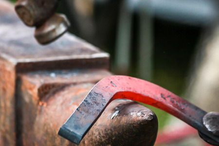 forgeman: horseshoe being crafted by a skilled blacksmithfarrier