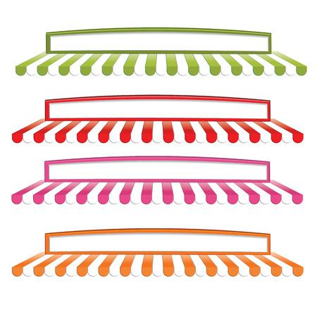 awning illustration Illustration