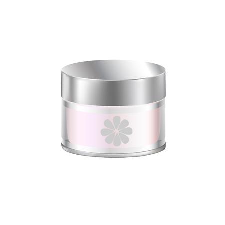 ointment: Vector Jar illustration design