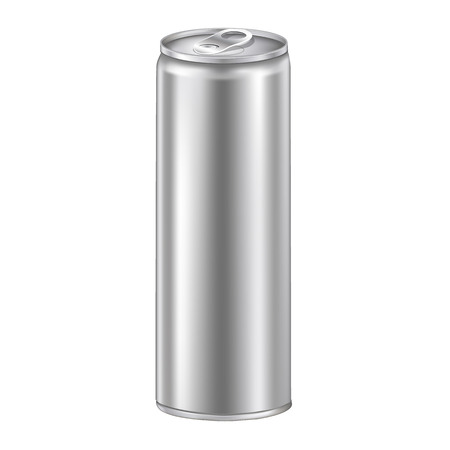 illustion: Vector Illustion of an aluminum can