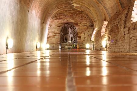 blissfull: Bhudda in the tunnel,Wat Umong,Chiangmai,Thailand