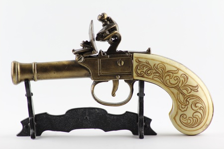 Antique gun photo