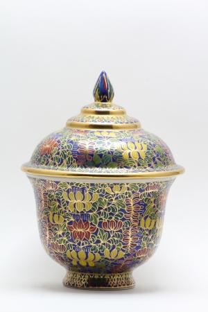 Rustic handmade pot
