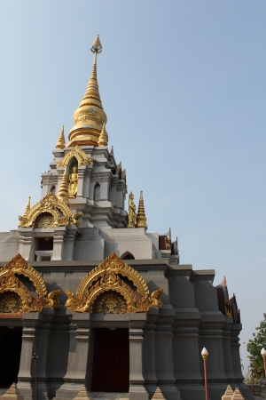 Chedi Suntikiri, Doi Maesalong, Chiangrai, Thailand photo