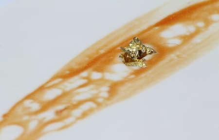 goldfolie: K�sekuchen mit Blattgold verziert Lizenzfreie Bilder