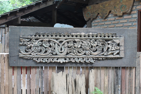 Wood carving photo