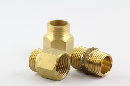 Pipe brass fitting