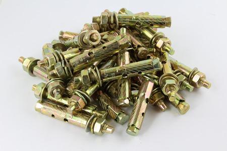 dowel: Anchor bolts  Stock Photo