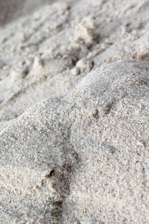 Beautiful sand on beach background. photo