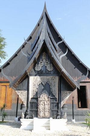 chiangrai: Black house museum, Chiangrai, Thailand.