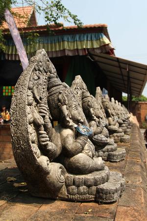 chaingmai: Ganesha statue in Chiang Mai , Thailand. Stock Photo