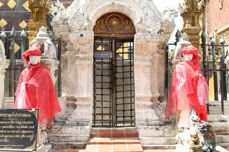 Thai temple, Wat Phra That Lampang Luang, Lampang, Thailand