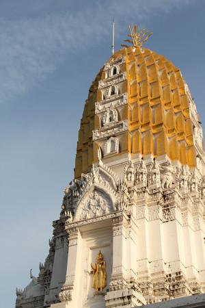 Thai temple, Wat Phra Sri Rattana Mahathat, Phitsanulok , Thailand.
