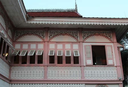 The Vongburi House Museum a private museum, Phrae province, Northern Thailand. 新聞圖片